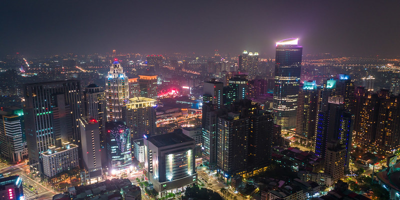 新北市の夜景