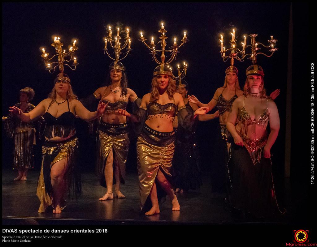 DIVAS spectacle de danses orientales 2018