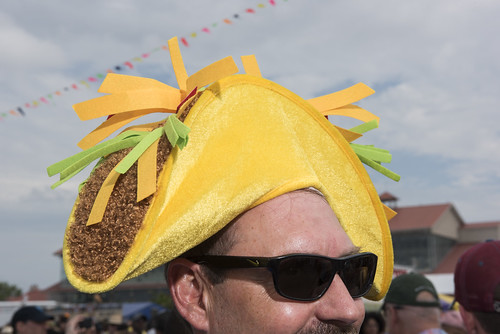 Hat at Jazz Fest day 6 on May 5, 2018. Photo by Ryan Hodgson-Rigsbee RHRphoto.com
