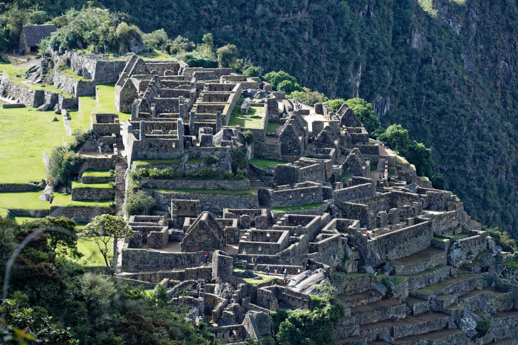 Machu Picchu - scale and complexity