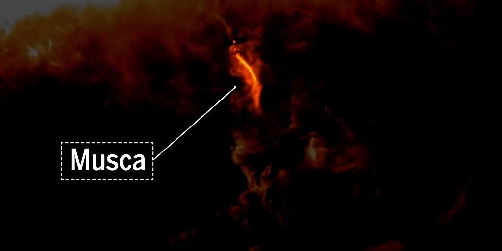 Les scientifiques ont imagé le lieu de naissance des étoiles en utilisant le son
