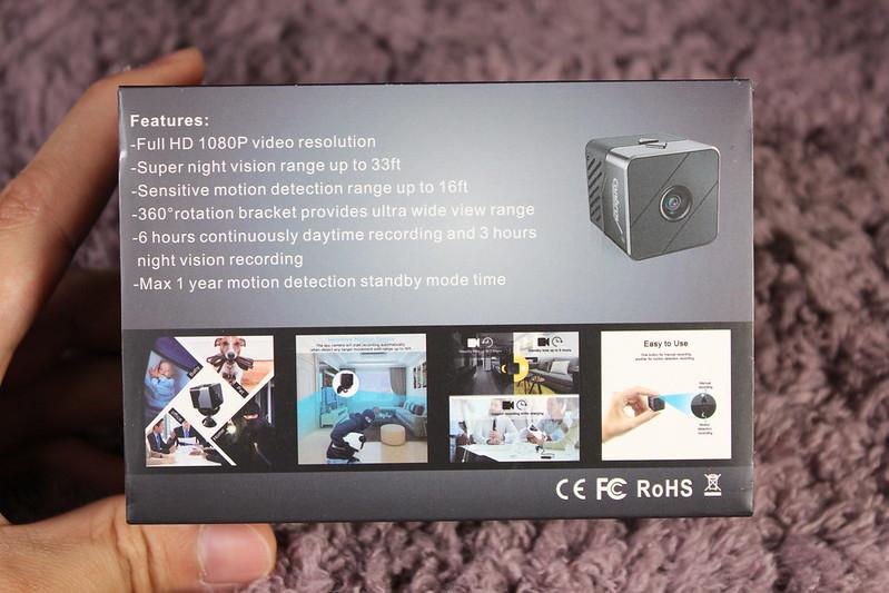 Conbrov 小型動体検知カメラ 開封レビュー (3)