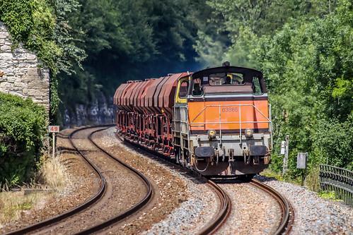 22 juin 2009  BB 63865-63817 Train 511807 Périgueux -> Coutras Mauriac (33)