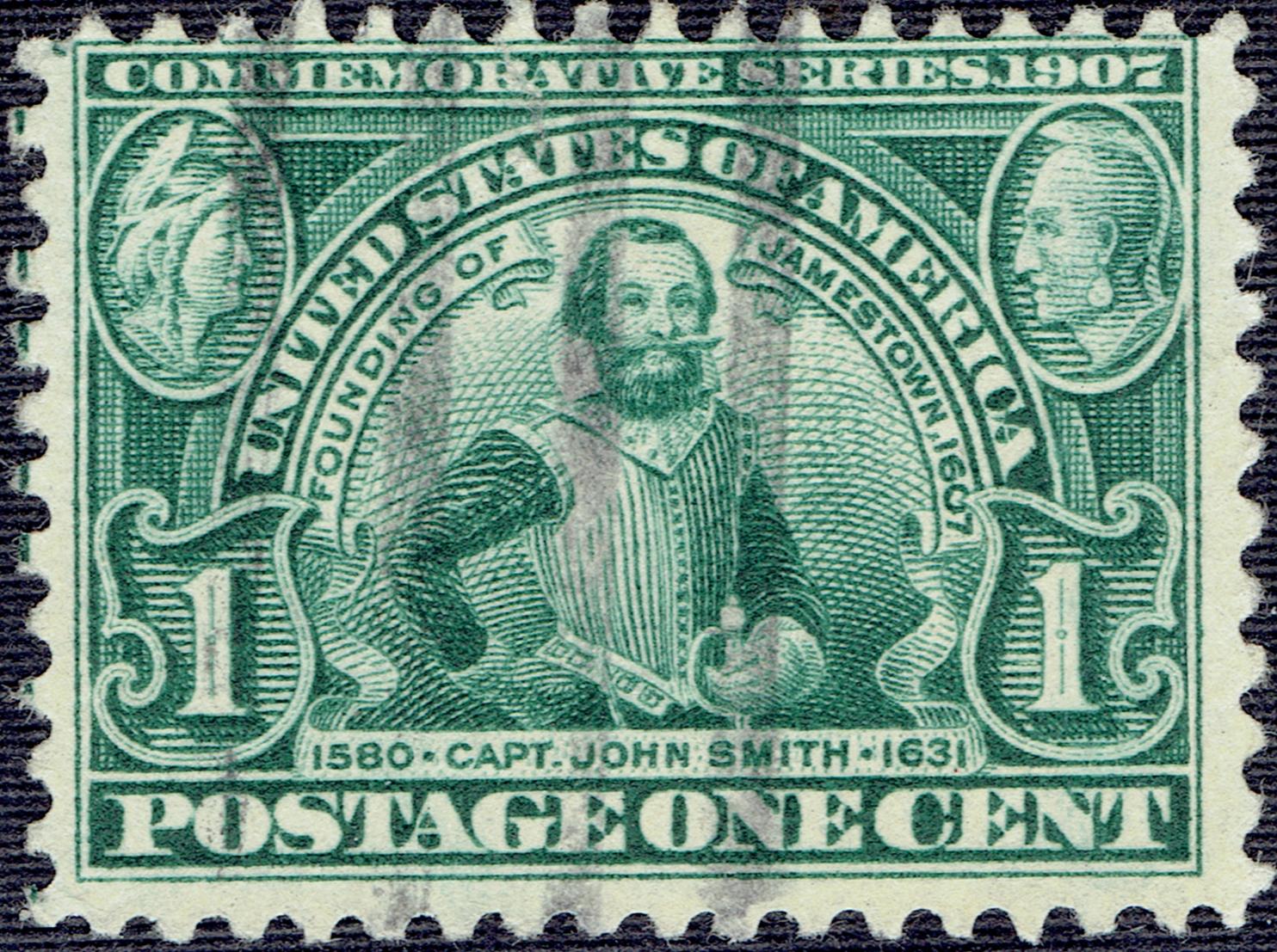 United States - Scott #328 (1907)