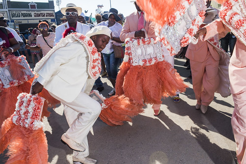 Original CTC Steppers at Jazz Fest Day 7 on May 5, 2018. Photo by Ryan Hodgson-Rigsbee RHRphoto.com