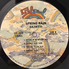 SILVETTI:SPRING RAIN(LABEL SIDE-B)