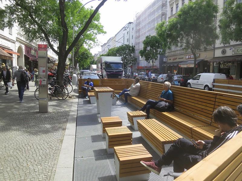 Parklet Bergmannstrasse