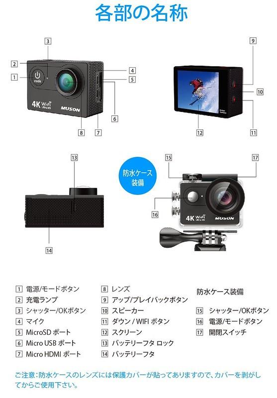 MUSON(ムソン)アクションカメラ (13)