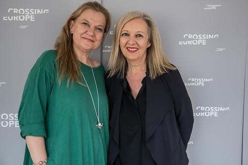 CE18 – opening ceremony // Ada Solomon (Producer, SPOTLIGHT guest), Christine Dollhofer (Festival Director) // photo © Christoph Thorwartl / subtext.at