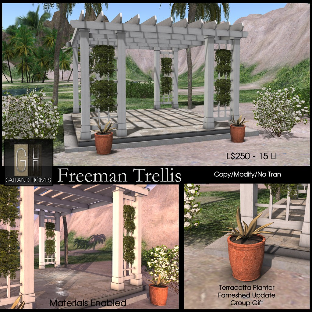 Freeman Trellis by Galland Homes - TeleportHub.com Live!