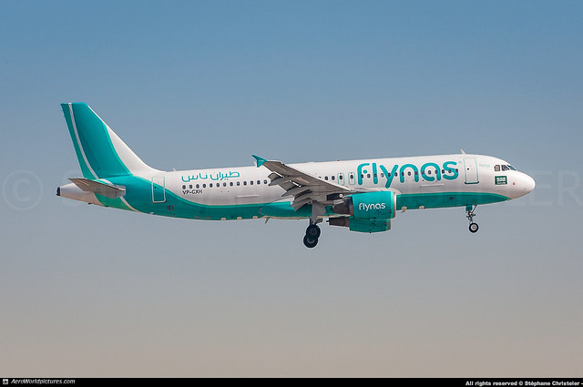 [DXB.2017] #flynas #XY #KNE #Airbus #A320 #VP-CXH #awp