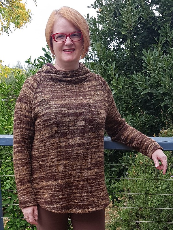 Style Arc Josie hoodie in knit from The Cloth Shop Ivanhoe