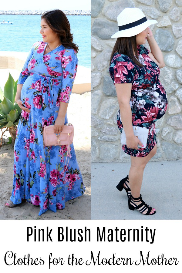 Pink Blush Maternity Clothes for the Modern Mother #PinkBlushMaternity