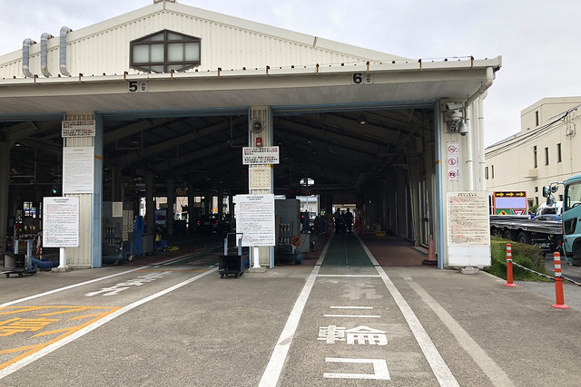 Motorcycle inspection at Japan