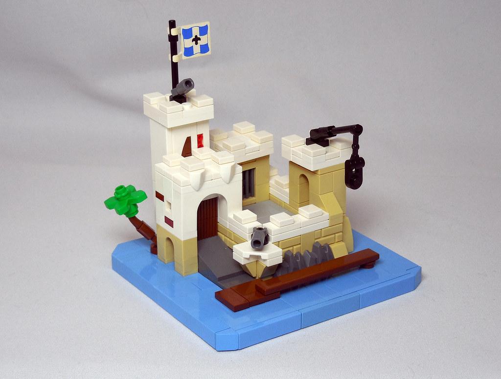LEGO® MOC by Vitreolum: 6276 Eldorado Fortress Micro