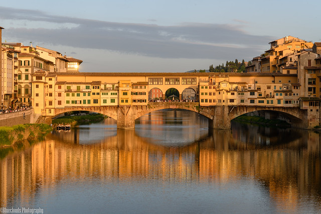 CHU_2102 (Ponte Vecchio, Florence ...just before sunset)
