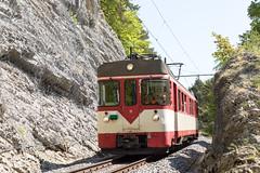 North of Baulmes | CH-VD (Vaud) | 05.05.2018 | Travys Be 4/4 15 as special train for Bahnforum Schweiz