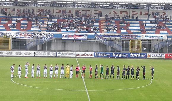 Poule Scudetto, Pro Patria - Virtus Verona 3-1