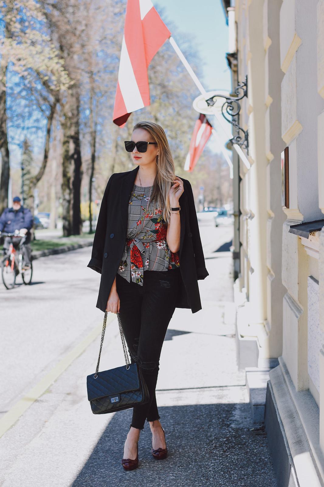 Styling and H&M blazer