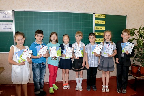 """Нагородження учасників Міжнародного конкурсу """"Бебрас"""", 2-Б"""