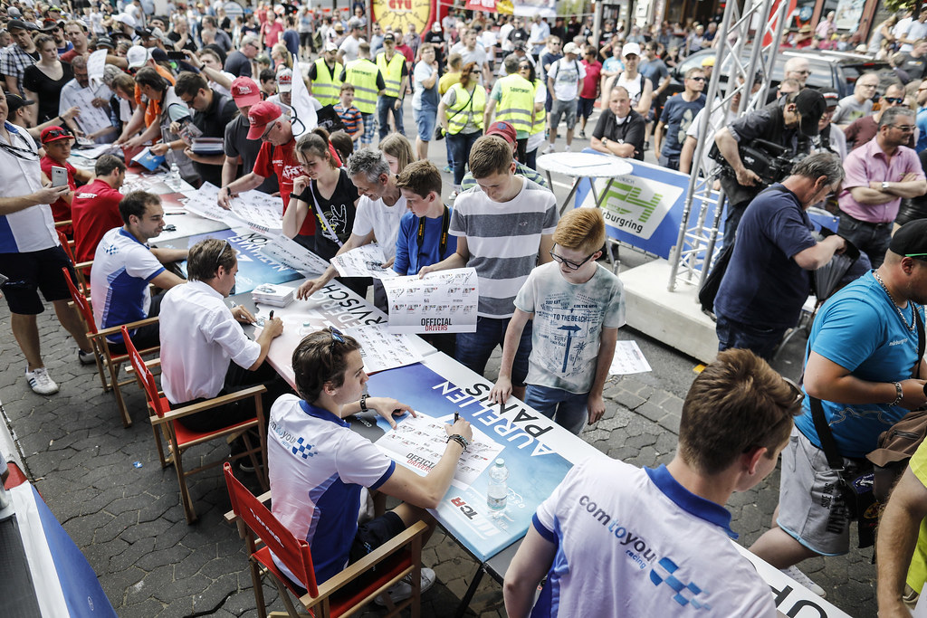 autograph session during the 2018 FIA WTCR World Touring Car cup of Nurburgring, Germany from May 10 to 12 - Photo Francois Flamand / DPPI