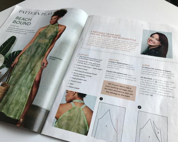 Slip Dres Magazine