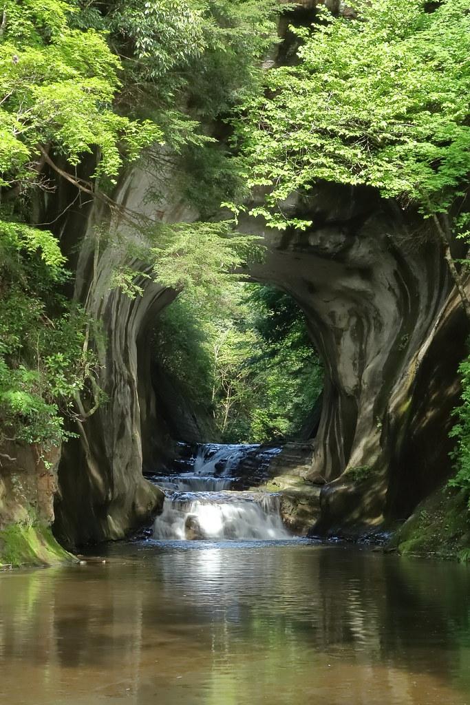 農溝の滝4