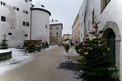 Крепость Хоэнзальцбург. Зальцбург, Австрия