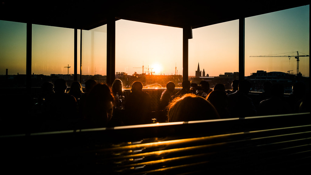 Dinner with a view - Dublin, Ireland - Travel photography