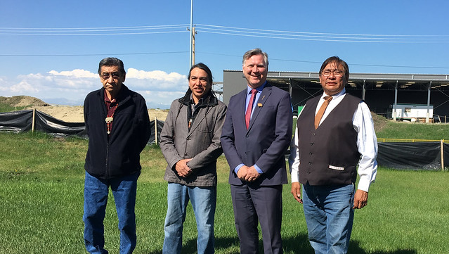 Energy efficiency upgrades on Tsuut'ina Sportsplex