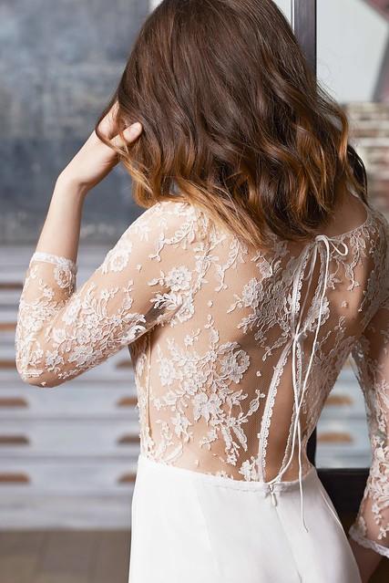 FABIENNE ALAGAMA - robe de mariée sur mesure - Séville