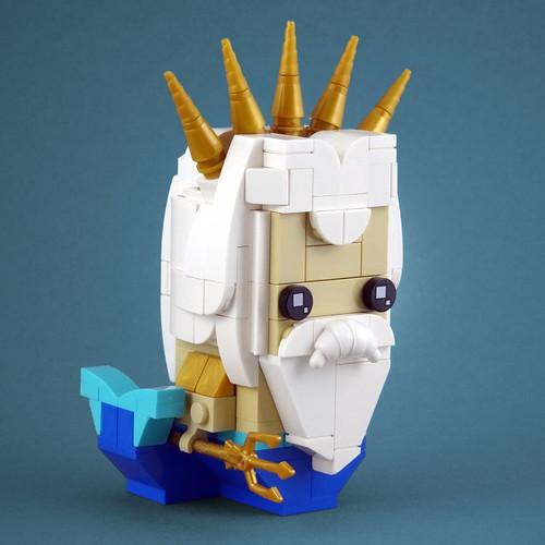 BrickHeadz: King Triton