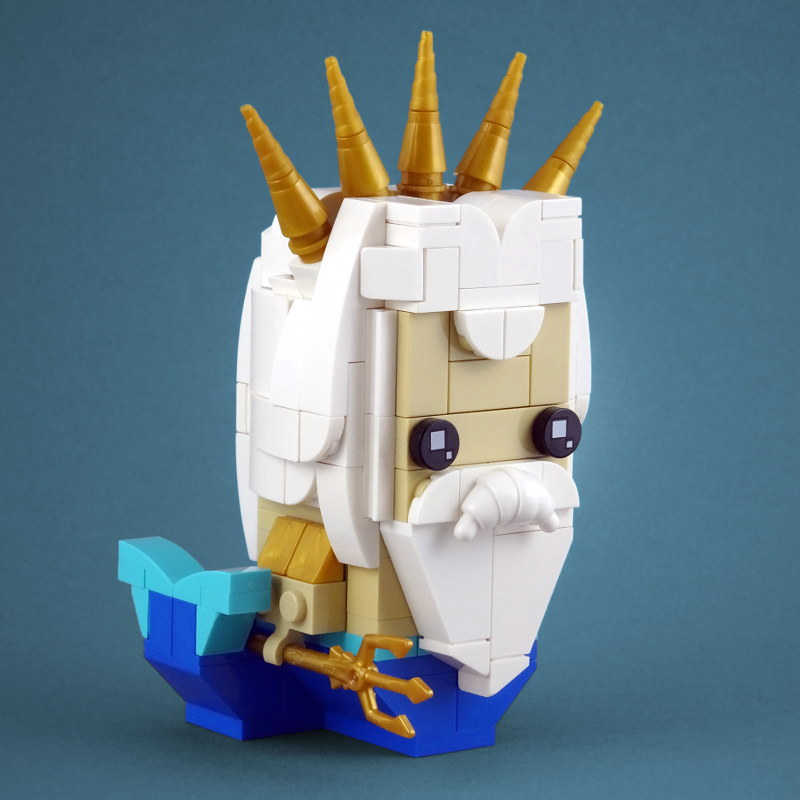 BrickHeadz: King Triton