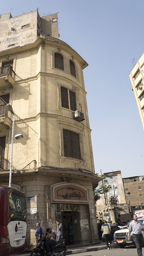 Old European Classical building in Downtown Cairo | by Kodak Agfa