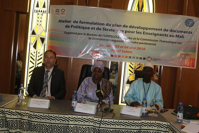 Atélier-formulation-plan-développement-documents-politique-stratégie-enseignants-Mali