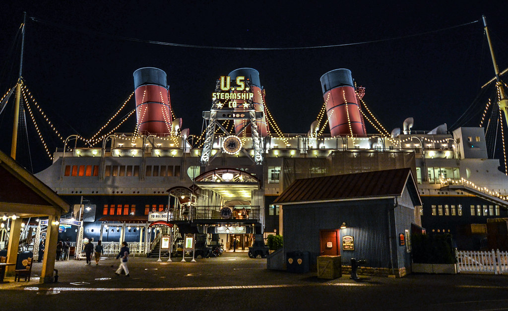 US Steamship night American Waterfront TDS