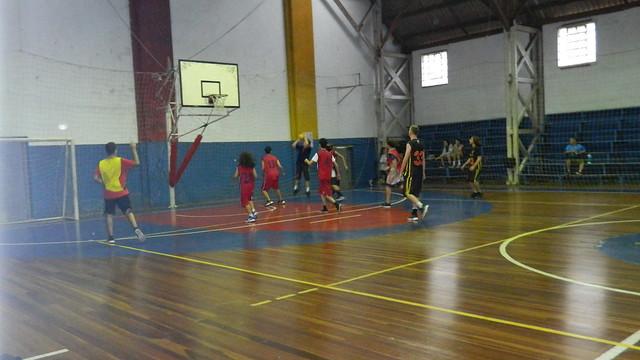 Amistoso de basquete