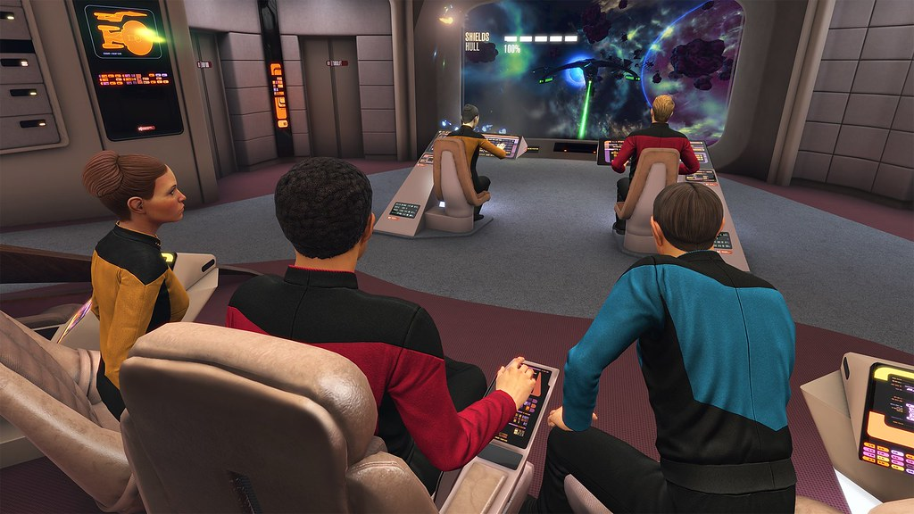Star Trek: Bridge Crew's New DLC Enters The Next Generation on PS VR