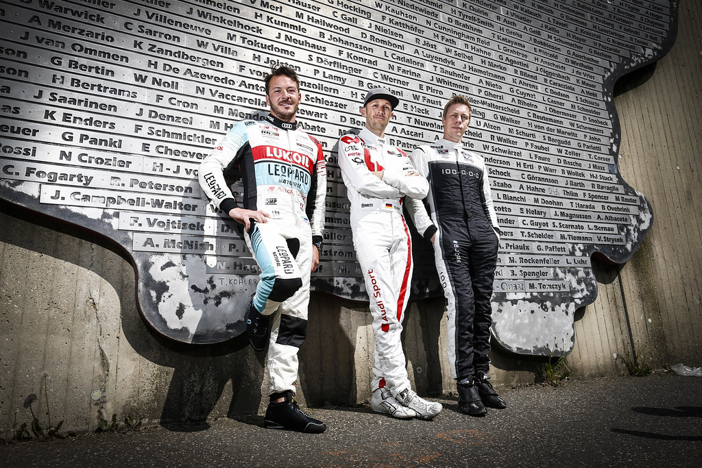 VERNAY Jean-Karl (FRA), Audi Sport Leopard Lukoil Team, Audi RS3 LMS, portrait during the 2018 FIA WTCR World Touring Car cup of Nurburgring, Nordschleife, Germany from May 10 to 12 - Photo Francois Flamand / DPPI