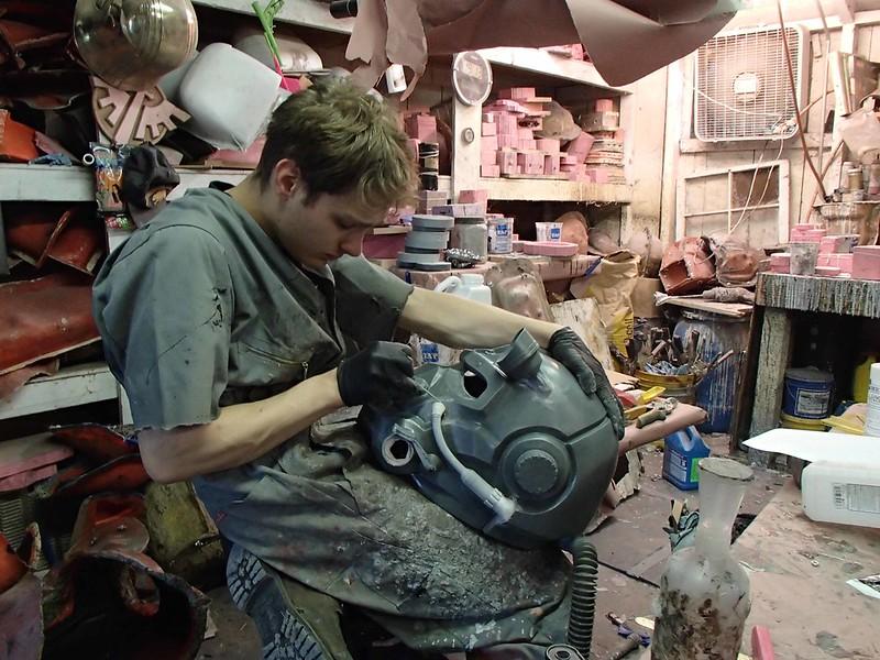 Freddy Prepping Helmet