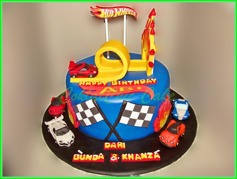 Cake HotWheels ABI 20 cm