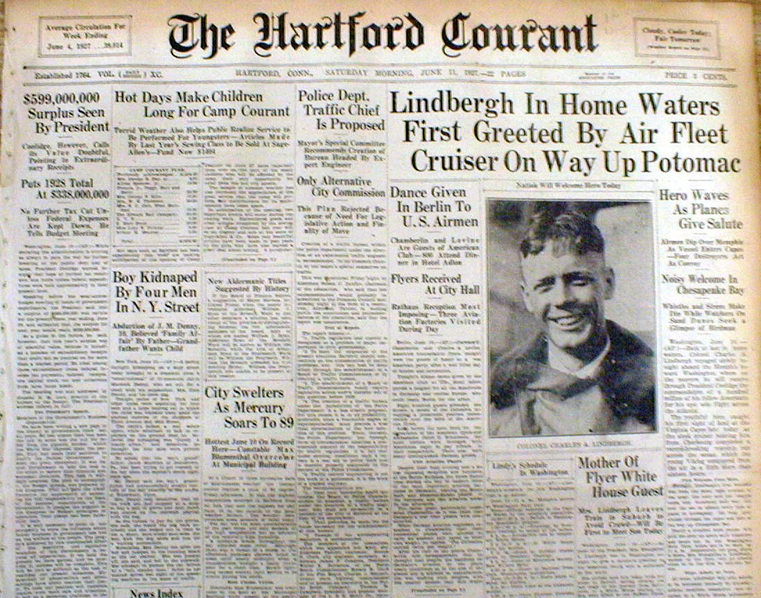 The Hartford Courant, June 11, 1927