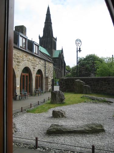 Glasgow Cathedral and Zen Garden