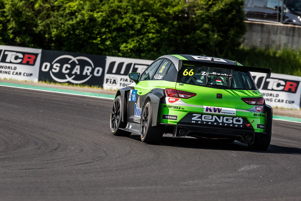66 ZSABO Zsolt David (HUN), Zengo Motorsport, Cupra TCR, action during the 2018 FIA WTCR World Touring Car cup, Race of Hungary at hungaroring, Budapest from april 27 to 29 - Photo Thomas Fenetre / DPPI