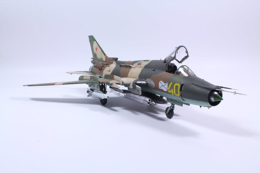 SU-17 M4 Kitty Hawk  1:48 finished 30/04/18