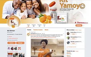 New Kit Yamoyo Twitter page