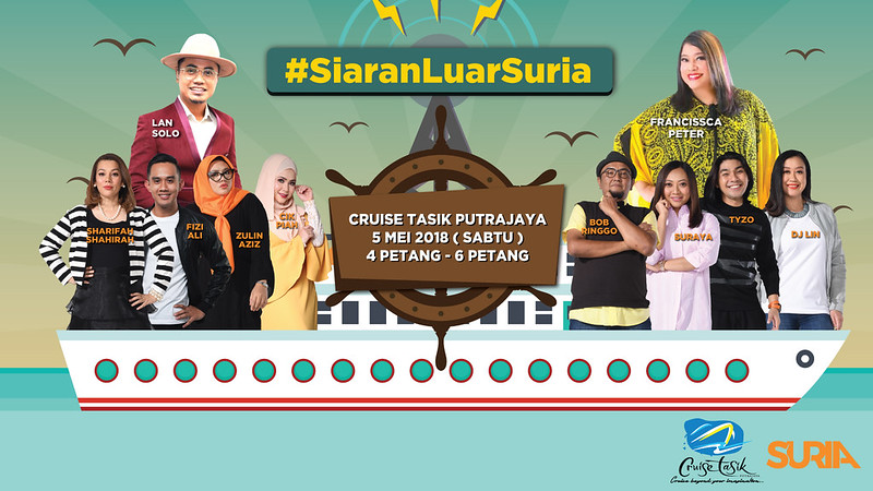 Siaran Luar Suria bersama Cruise Putrajaya (1)