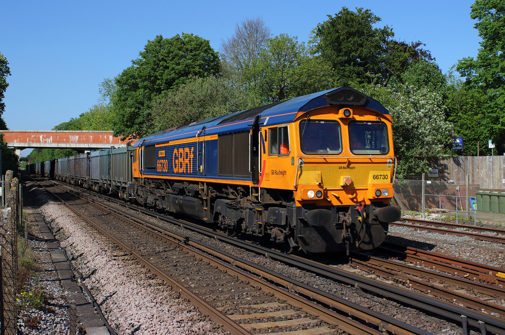 WINCHESTER  08.05.18  66730 4Y19 MOUNTFIELD  TO SOUTHAMPTON  EMPTY GYPSUM CONTAINERS.