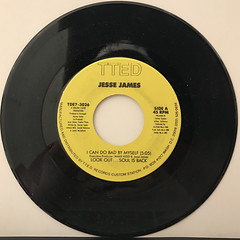 JESSE JAMES:I CAN DO BAD BY MYSELF(RECORD SIDE-A)