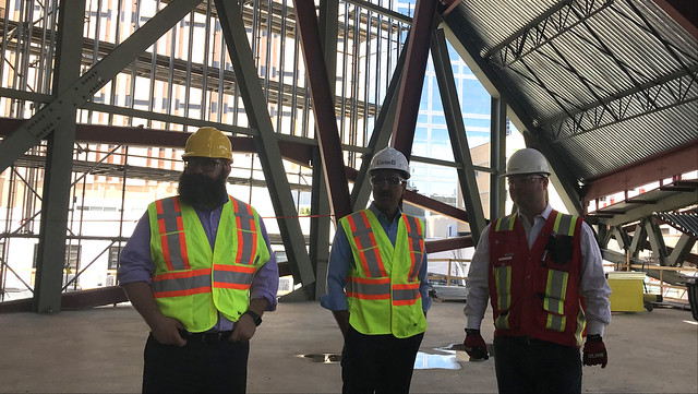 Governments fund Stanley A. Milner Library project